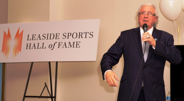 2014 Induction Ceremony guest speaker, Toronto Argonauts President, and former Chair of the Canadian Olympic Committee, Chris Rudge