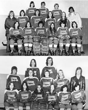 1974 Leaside Lancerettes and Blazerettes
