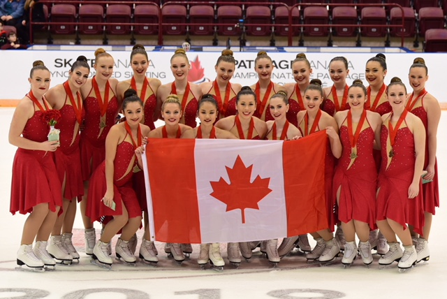 Leaside Skating Club's Meraki Intermediate Synchro Team - Canadian Intermediate Synchronized Skating National Champions 2018